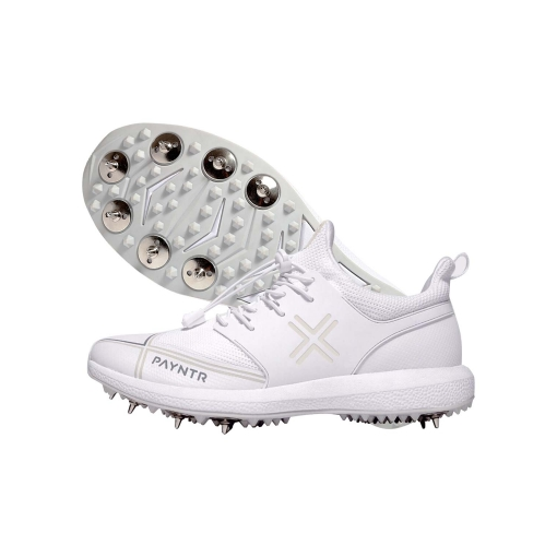 X Junior Spike Shoes - White (UK Sizing) (17/18)