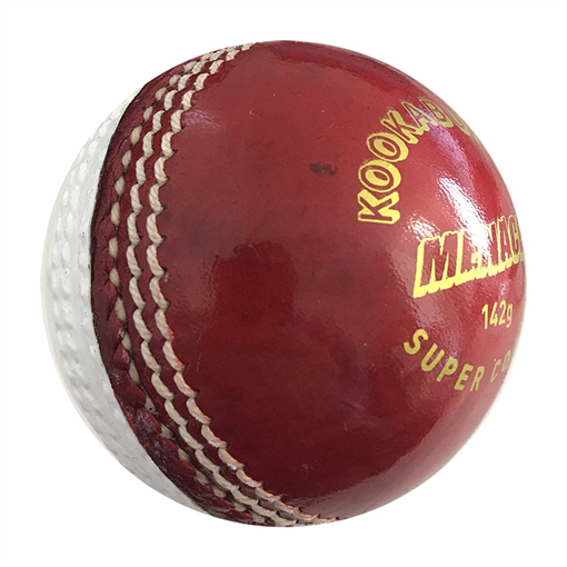 Menace Two Piece Ball 156G - Red/White