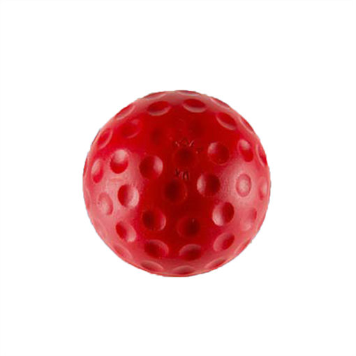 Red Bowling Machine Ball