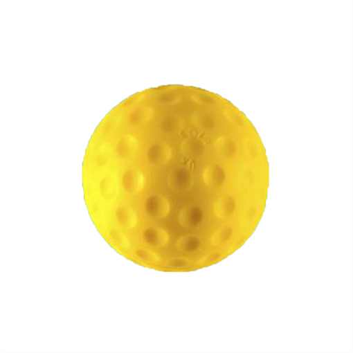 Yellow Bowling Machine Ball