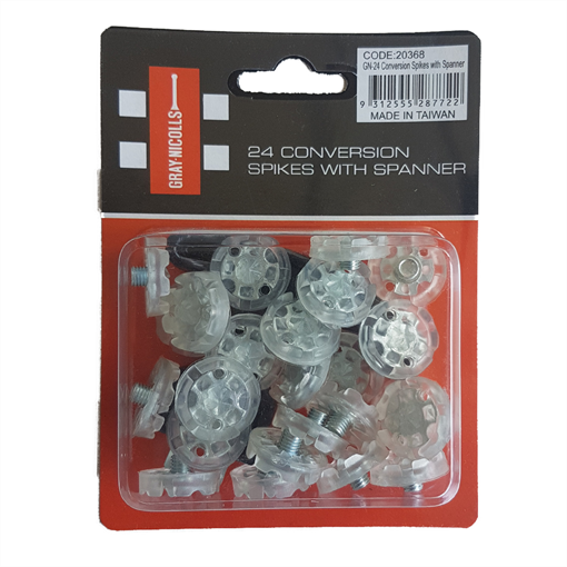 Rubber Spikes - 24 Pack With Spanner
